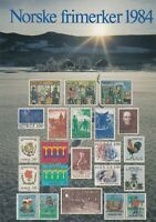 Norway UNUSED Assorted Norway Stamps Illustrated 1984 Post Card Ref 45748