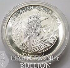 2014 BU 1 oz Silver Australian Kookaburra Horse Privy Coin Perth Mint, Australia