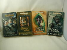 R A Salvatore Paths of Darkness Forgotten Realms 4 Books Dungeons & Dragons