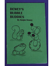Morris Costumes Deweys Bubble Buddies Magic Book. RB43