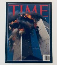 5 MAJOR NEWS MAGAZINES for 9-11-2001, TIME, US NEWS, & NEWSWEEK, All NM-M