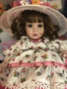 "2003 ""Amaya"" Marie Osmond ""Spring Time"" Series TinyTot Porcelain Doll"