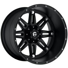 "18"" 18x12 Fuel D531 Hostage Black Wheels Rims 8x170 8 lug Ford Super Duty F250"