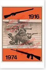 Ireland Easter Rising 1916 - 1974 Irish Republican Movement Anniversary Poster