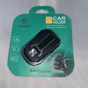 Hicucoo 3 in 1 Multi-purpose Cell-phone Ring, Holder, Kickstand and Car Mount.