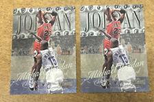 1998-99 METAL UNIVERSE MICHAEL JORDAN #1 2 CARD LOT HOT