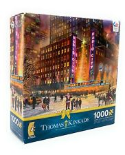 Thomas Kinkade 1000 Piece Ceaco Jigsaw Puzzle, Holiday Radio City Music Hall