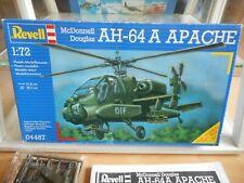 Modelkit Revell McDonnell Douglas AH-64 A Apache on 1:72 in Box