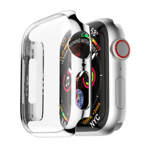 iWatch 40/44mm Screen Protector Case Snap On Cover Apple Watch Series 6/5/4/3/SE