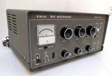 RARE   TRIO (KENWOOD)   MODEL  TX-88A   CW/AM    80-6 METER   TRANSMITTER