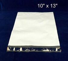 "Poly Mailer Shipping Envelopes 10"" x 13"", Co-ex White, Self Sealing, 1,000/case"