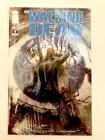 Tony Moore Signed Walking Dead Weekly (Image) #9 2011 HIGH GRADE  Reprint Series