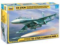 SUKHOI Su-27 SM FLANKER AIR SUPERIORITY FIGHTER (RUSSIAN MKGS) #7295 1/72 ZVEZDA