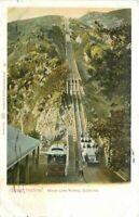 Mount Lowe Incline Railroad Pasadena California Weidner Postcard 20-13871
