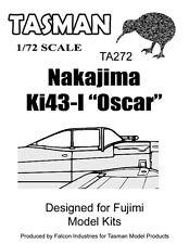Tasman 1/72 Vacform Canopy TA272 Nakajima Ki43-I 'Oscar' Canopy