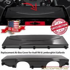 Scopione Carbon Fiber Air Filter Box Cover for Audi 08-15 R8 & 09-14 Gallardo