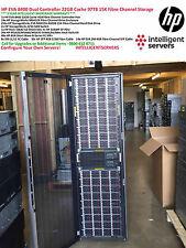 HP EVA8400 22GB Cache Dual Controller 97TB Fibre SAN Storage Configuration