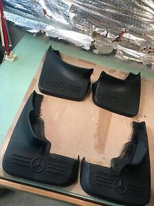 98-01 set of 4 OEM Mercedes W163 Mud flap set splash slosh guard front & rear