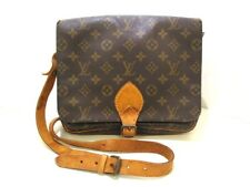 Auth LOUIS VUITTON Cartouchiere GM M51252 Monogram Canvas SL0920
