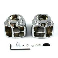 Chrome Switch Housing Cover For 1996-2010 Harley Softail Heritage Classic FLSTC