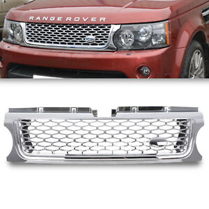 CHROME AUTOBIOGRAPHY LOOK FRONT GRILL GRILLE FOR RANGE ROVER SPORT L320 10-13