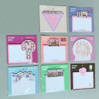Nett BLACKPINK TWICE IZONE GOT7 EXO Cute Sticky Notes Memo Pad Stickers Bookmark