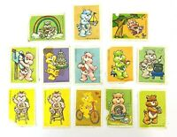Care Bears Stamp Ephemera Colection lot American Greetings 1984 -13 as-is Stamps