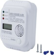 uniTEC Kohlenmonoxidmelder , Gasmelder , weiß, Alarmsignal: ca. 85 dB