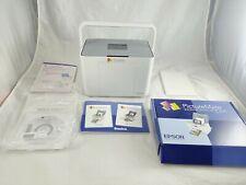 Epson PictureMate PM260 Photo Inkjet Printer Personal Photo Lab No Power Cord