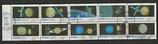 1991 SOTN FIRST-DAY CANCELED SPACE EXPLORATION NEVER-FOLDED BOOKLET PANE #2577a