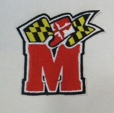 """NCAA Maryland Terrapins """"M"""" 3.5"""" X 3.5"""" Sewn/Iron-On Patch"""