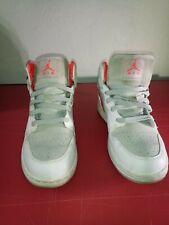 Nike Air Jordan 1 Phat Orange Grey White Leather Sz 5.5Y 454659-119