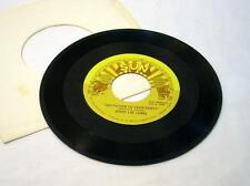 Jerry Lee Lewis 45 Record Sun Invitation To Your Party/One Minute Past Eternity