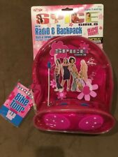 1998 SPICE GIRLS Mini Backpack Radio Vintage Mint On Card With Tags