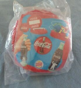 COCA-COLA BOTTLE CAP BALL TOSS GAME NEW 2000 BURGER KING KIDS MEAL TOYS