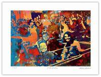 JFK Dallas Pop Art Giclée Limited Edition Print 18x24 by Artist Stephen Chambers