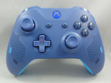 Sport Blue Special Edition Xbox One S Wireless Controller, Blue LED Rapid fire