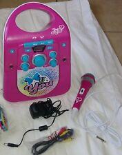 JoJo SIWA CD&G Bluetooth Karaoke Machine Hard to Find