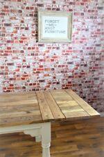 Estensione DI LEGNO DURO VERNICIATO tavolo da pranzo-posti a sedere fino a 12 persone Rustico Casa Colonica