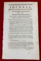 Louhans en 1797 Saône et Loire Fort de Klagenfurt Autriche Neuville Mayenne