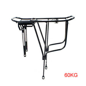 Alloy Cycling MTB Bike Bicycle Cycle Pannier Rear Rack Carrier Bracket Universal