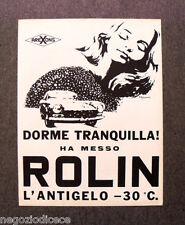 N502 - Advertising Pubblicità -1968- ROLIN , L'ANTIGELO AREXONS