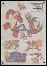 TIGGER MOVIE Advance Window Cling Video Release WINNIE THE POOH EeyoreMAKE OFFER