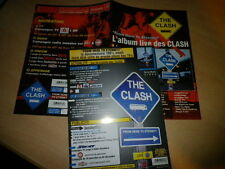 THE CLASH - SET OF 2 FRENCH PROMO PRESS/KITS!!!!!!!!!!!!!!!!!