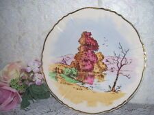 PLATE AUTUMN FALL Artist Signed H G AITKEN OLD IVORY SYRACUSE CHINA