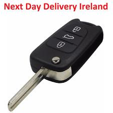 Uncut Replacement Blank Car Shell Key Fob 3 Button for HYUNDAI I30 IX35