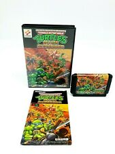 Sega Mega Drive Teenage Mutant Ninja Turtles Return Of The Shredder NTSC-J ►VGC◄