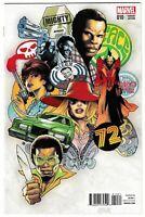 Mighty Avengers #10 RI 1:10 Greg Land 70's Variant (Marvel, 2014) NM