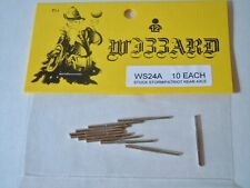 10 ~ Wizzard USA Storm and Patriot ~ Slot Car Replacement Rear Axle