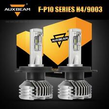 AUXBEAM 9003 H4 HB2 HS1 60W 7600LM LED Headlight Bulbs Motorcycle Car Lamp Pair